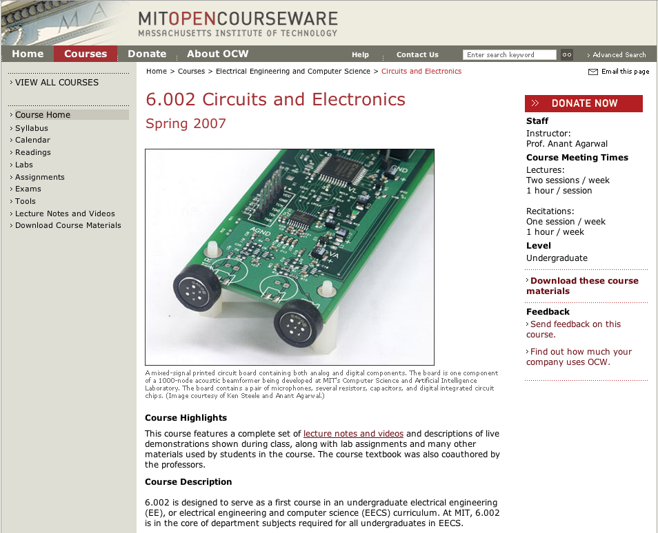 ATE Central - Circuits and Electronics