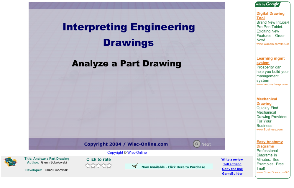 ATE Central - Analyze a Part Drawing