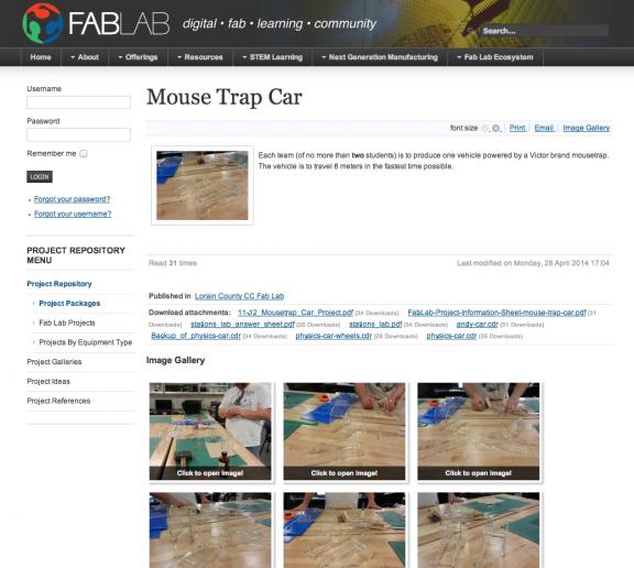 Ate Central Mouse Trap Car Design Project