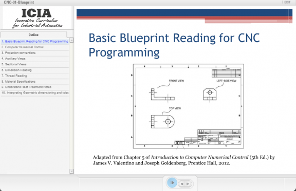 ATE Central - Module 1: Basic Blueprint Reading for CNC Programming