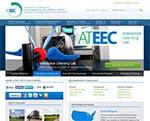 ATEEC Website Screenshot