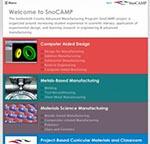 SnoCAMP Website Screenshot
