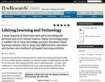 Pew Research Ccenter website screenshot
