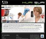 Huri Suri Website Screenshot